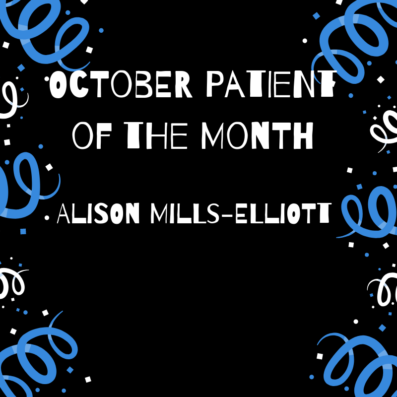 October Patient of the Month