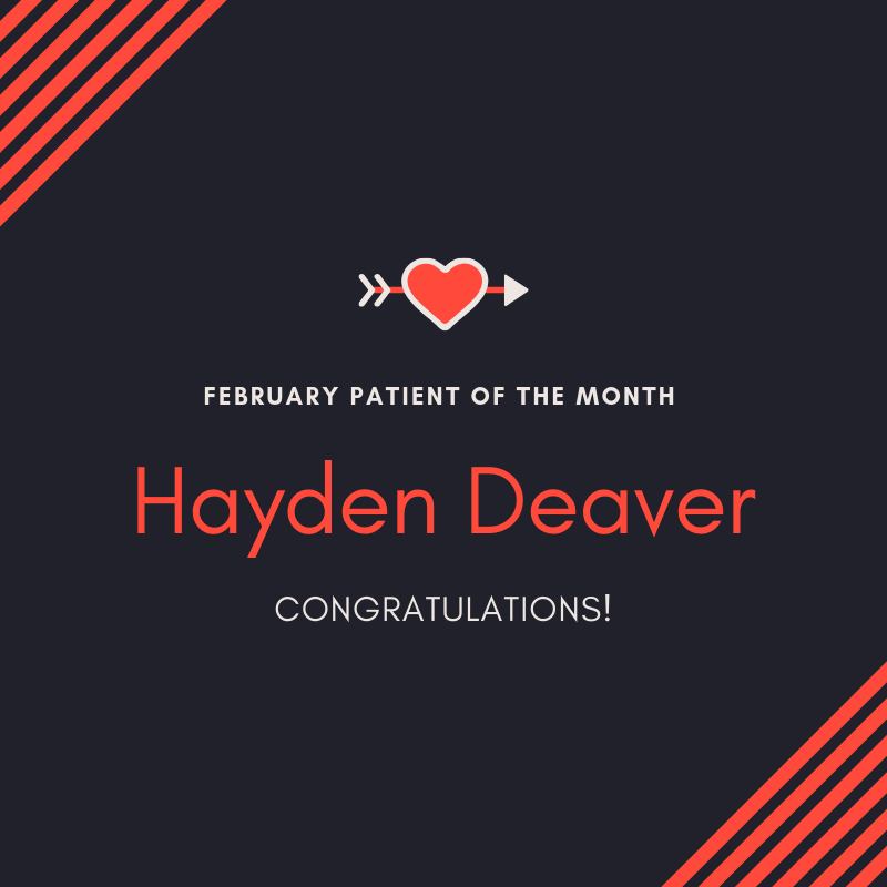 February Patient of the month 2019