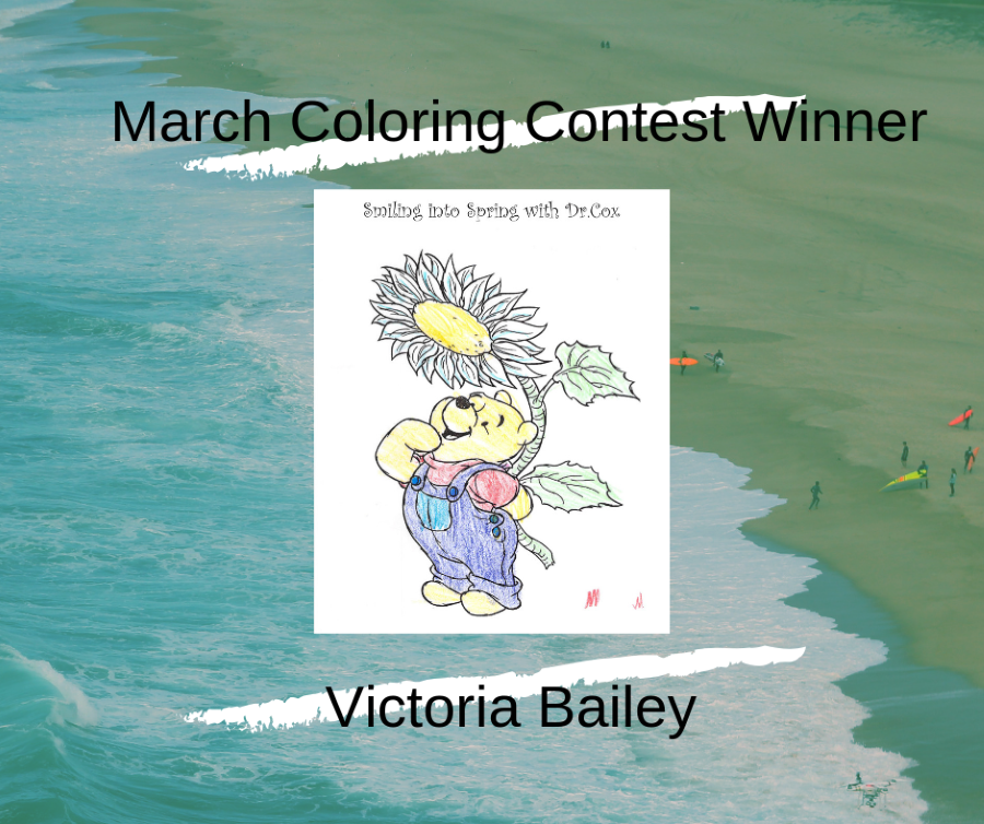 March Coloring COntest Winner