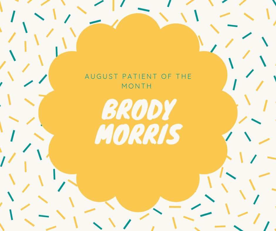 August patient of the month